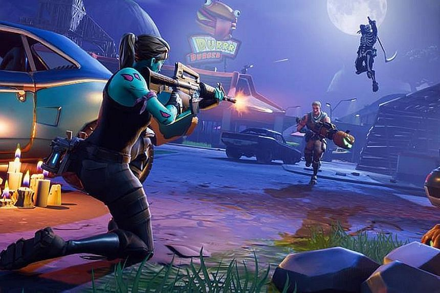 Fortnite is a competitive shooter that is free to download.