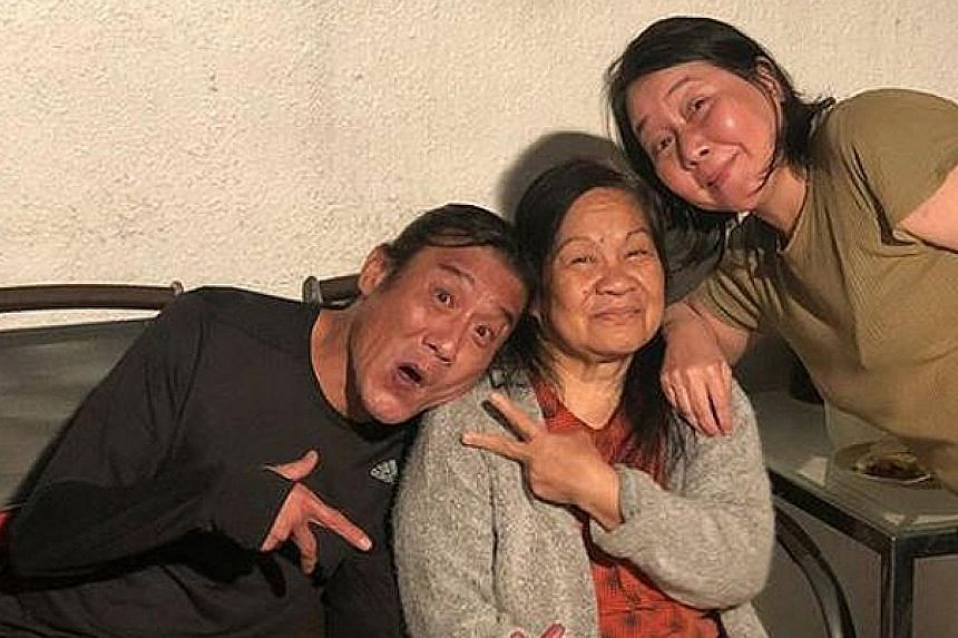 STAR EMPLOYER: Hong Kong actor Tony Leung Ka Fai (left), 61, has shown that he is a very caring boss. When Delia (centre), his family maid, was diagnosed with cervical cancer in November, he made sure he drove her to the hospital for treatments, inc