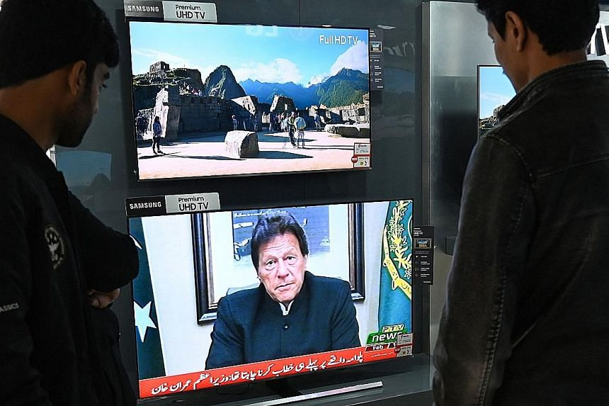 In a televised message yesterday, Pakistan's Prime Minister Imran Khan warned that his country will retaliate if India launches any attack.