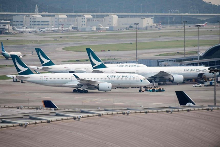 Cathay Pacific Airways said that its passenger business had benefited from capacity growth and improved revenue management, with average airfare prices up despite competitive pressures.