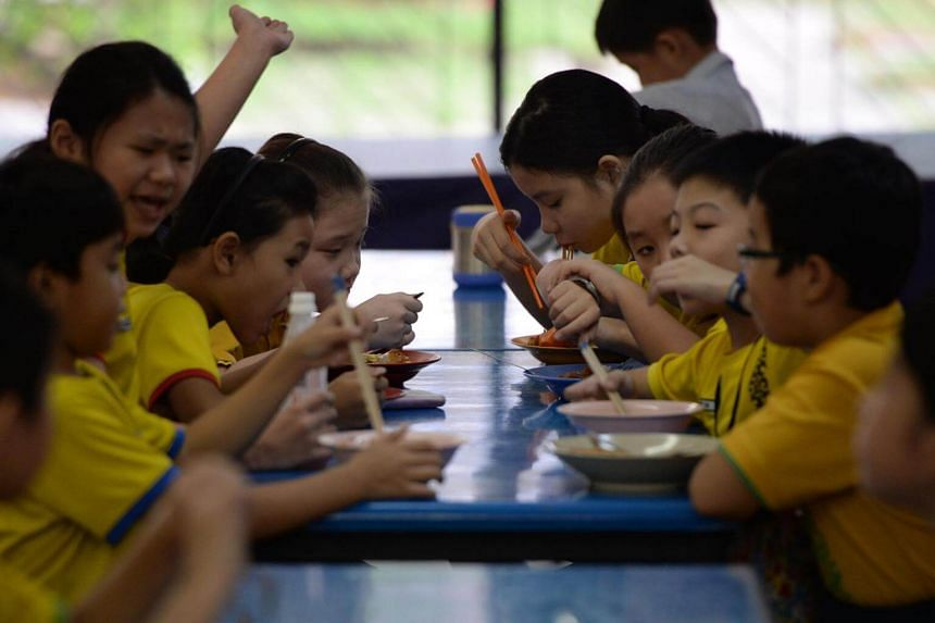 Children should also be made aware of the sugar content of other foods when they eat at food outlets.