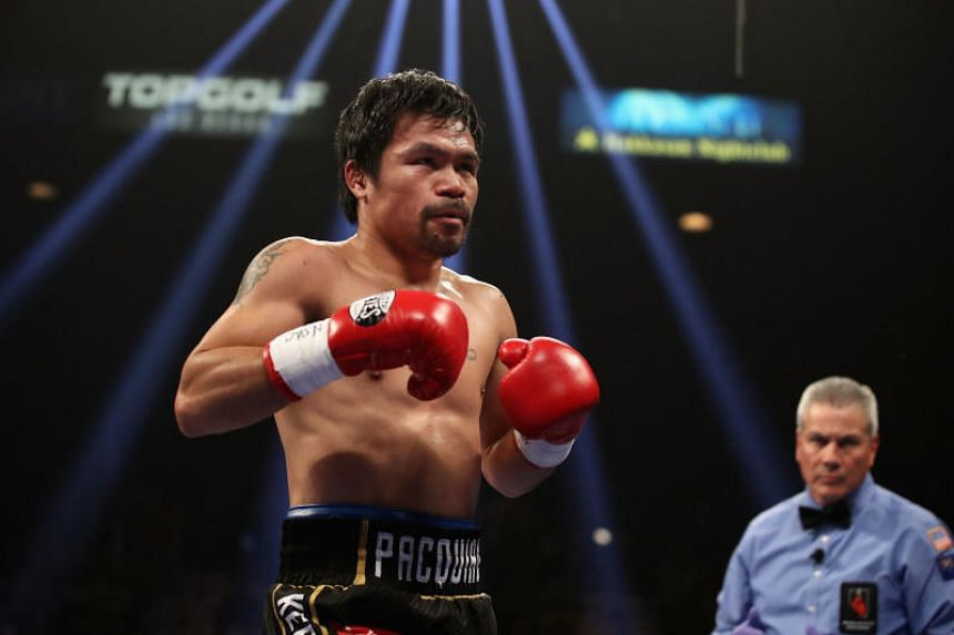 Philippine boxing legend Manny Pacquiao said he and his wife have even made a point not to have gloves and equipment at home.