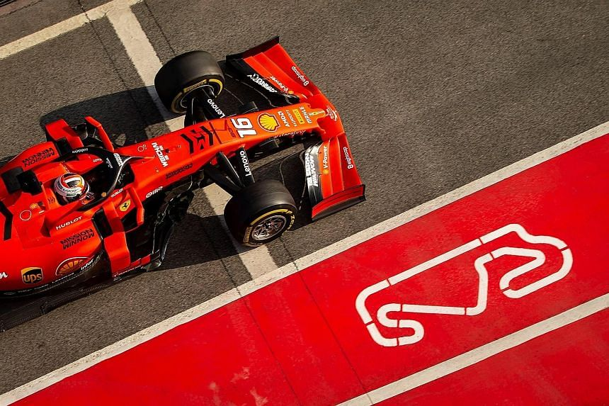 Ferrari driver Charles Leclerc of Monaco has no problems settling in with his new team on Day 2 of pre-season testing in Barcelona. He produced a best time of 1min 18.247sec and did 157 laps to keep pace with teammate Sebastian Vettel, who was also f