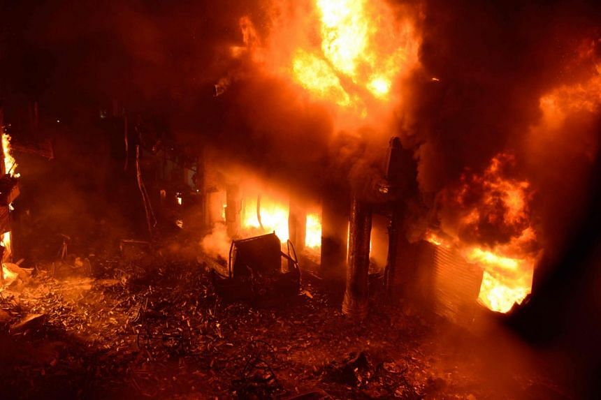 Bangladesh building fire: 'Doomsday' inferno leaves Dhaka in