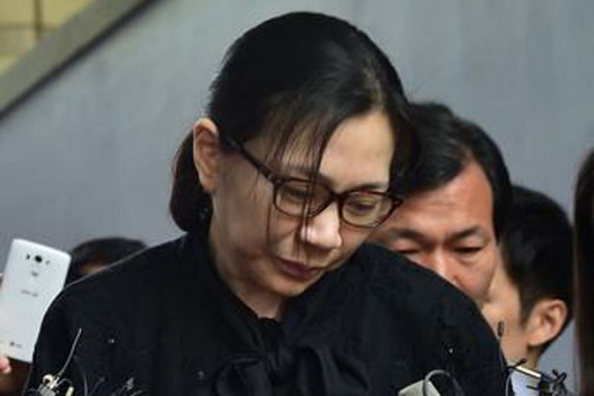 """Cho Hyun-ah, who earned global infamy for the """"nut rage"""" incident, has denied the allegations."""