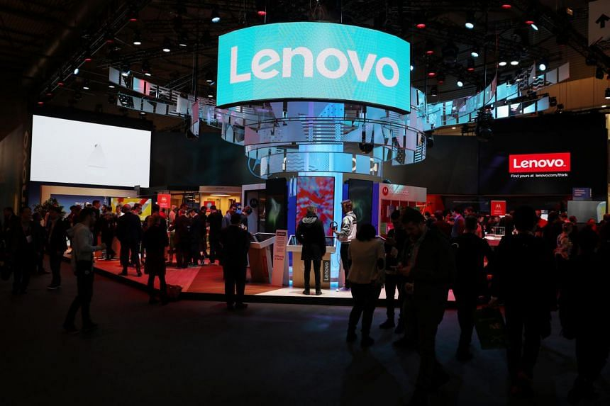 Lenovo said revenue for its PC and Smart Device Business rose 12 per cent in the three months period.