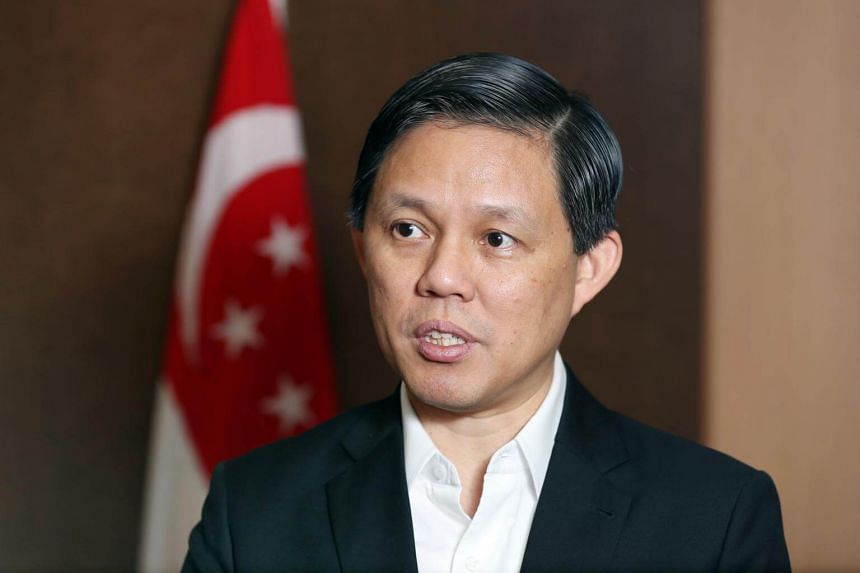 Mr Chan Chun Sing said Singapore would remain open to talent, particularly in industries such as artificial intelligence and financial technology.