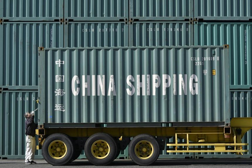 Both Japan and Korea's shipments to China fell sharply, contributing to their decine in exports.