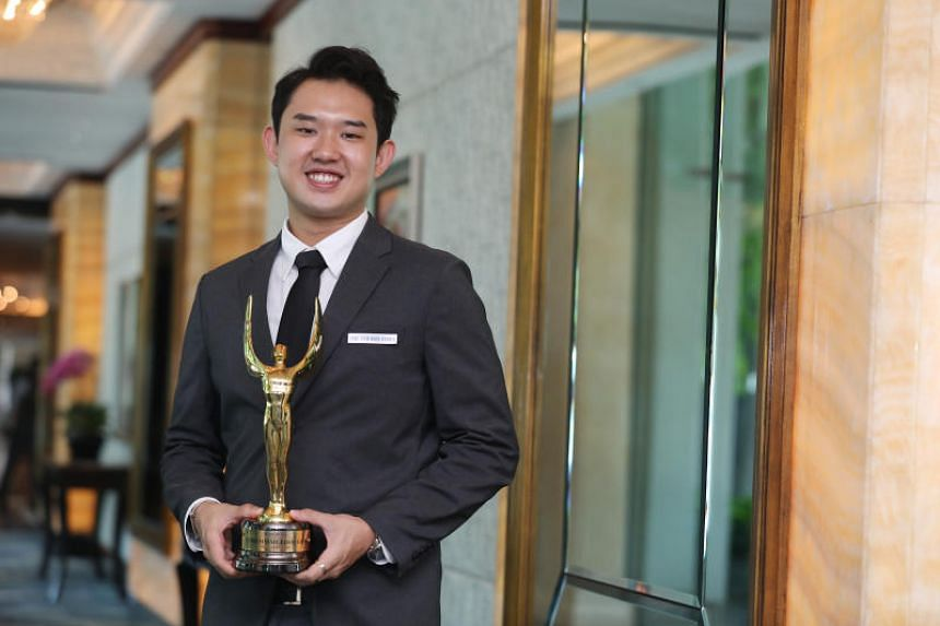 National bowler Muhammad Jaris Goh was named the Singapore Bowling Federation's Bowler of the Year last week, and is one of four Singapore Sports School alumni to receive the Moo Soon Chong Outstanding Student-Athlete Award.