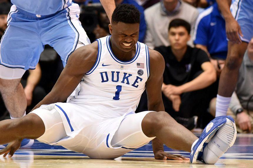 basketball star's shoe splits