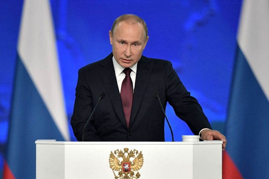 Vladimir Putin has said he does not want an arms race with the US, but that he would have no choice but to act if Washington deployed new missiles in Europe.