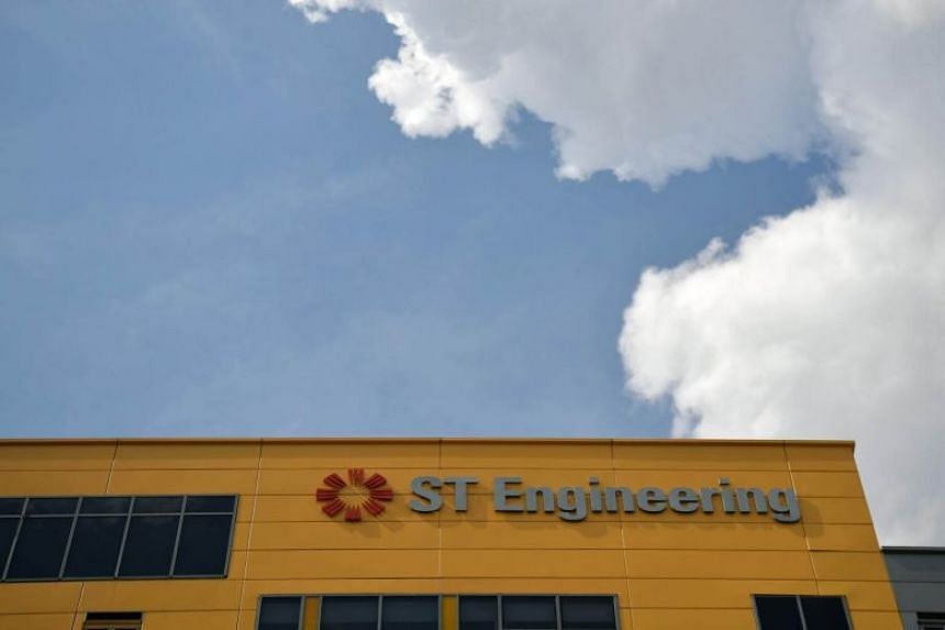 ST Engineering's revenue for the three months to Dec 31 rose 5 per cent higher to $1.77 billion.