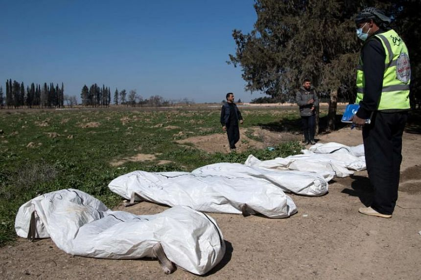 "The belated discovery is the biggest example yet of how the violence ISIS sowed during the reign of its ""caliphate"" will be harvested for years to come, diggers and activists said."