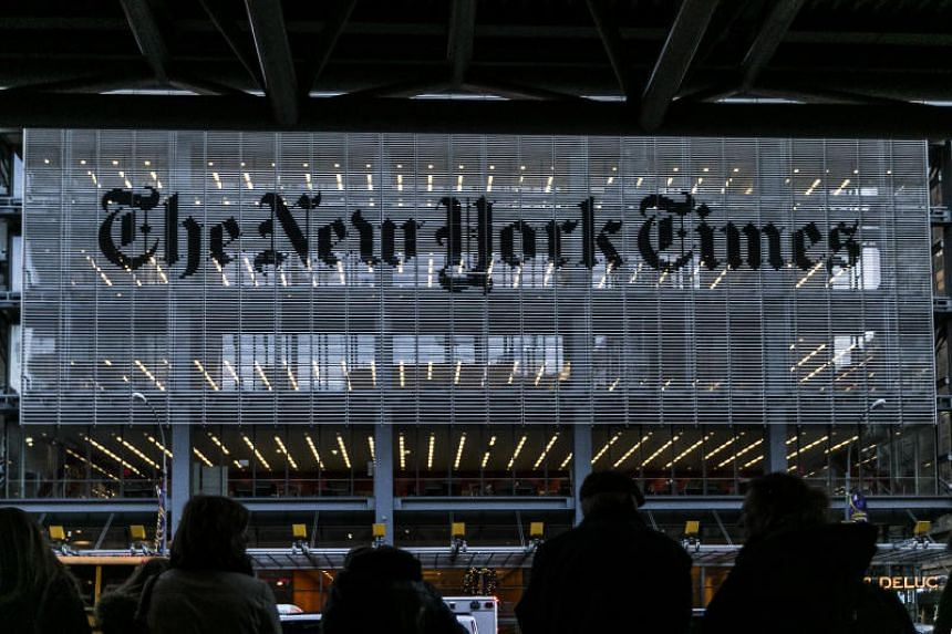 The New York Times had found a way to reach people in rural America - through their stomachs.