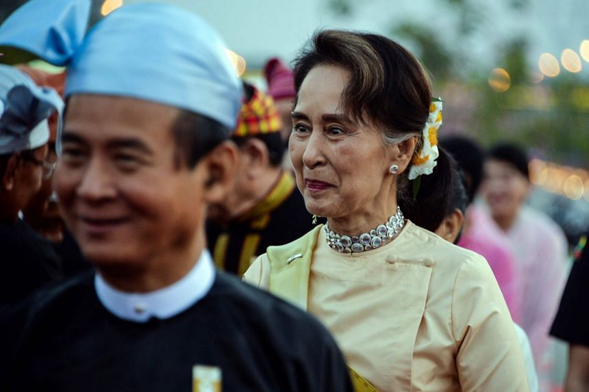 Ms Aung San Suu Kyi has been criticised by the West over the government's treatment of Rohingya Muslims and other human rights concerns.