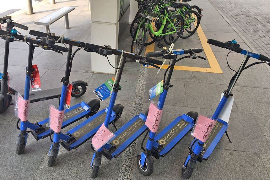 Telepod has been charged in court under the Parking Places Act, which prohibits PMDs from being offered for hire on public land without a licence or an exemption from the transport minister. Neuron Mobility will be charged at a later date for the sam