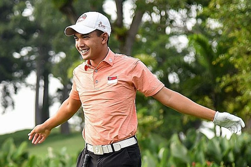 Abdul Hadi carded a 70 in the final round to beat Max McGreevy in the PGA Tour Series-China global qualifying event.