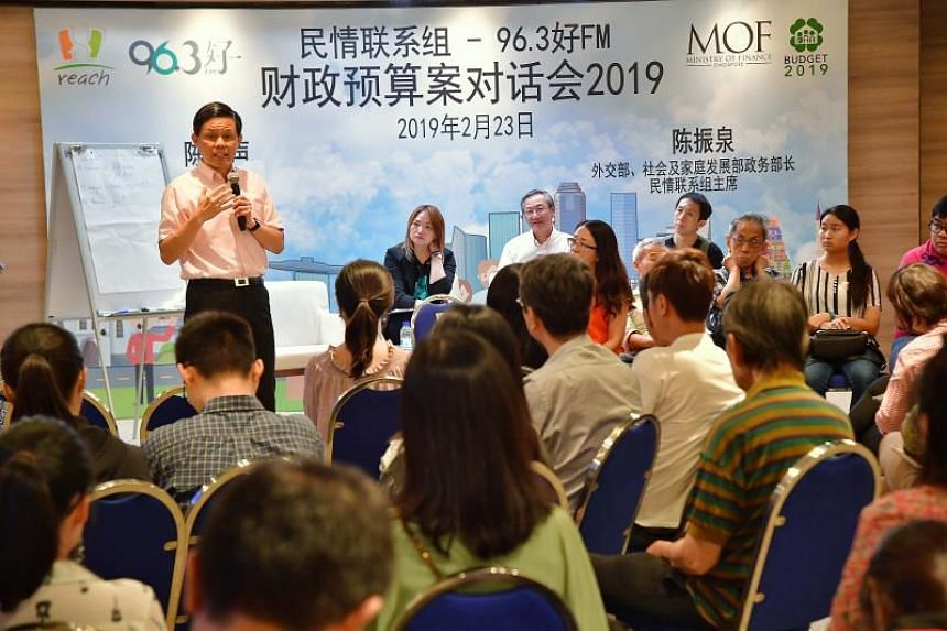 Minister for Trade and Industry Chan Chun Sing said the Merdeka Generation Package is a targeted approach that helps the most vulnerable in society.