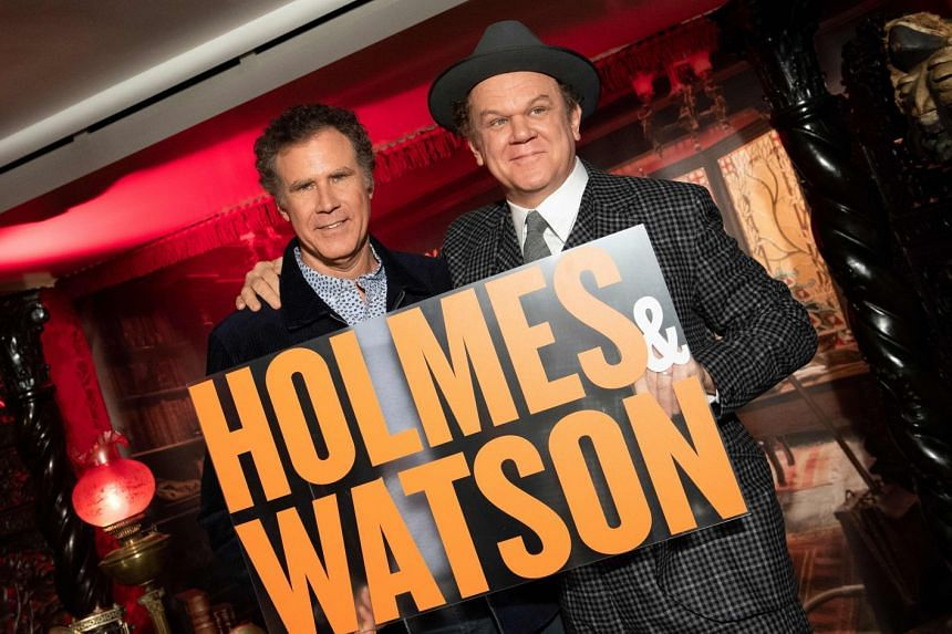 """Holmes & Watson, starring Will Ferrell (left) and John C. Reilly, was the biggest """"winner"""", taking four trophies including worst film and """"worst rip-off""""."""