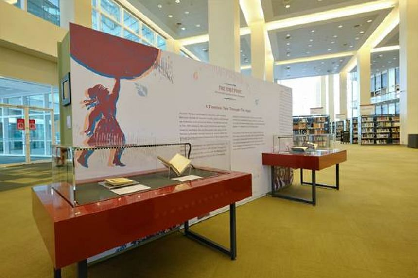 Translations and adaptations of the Sejarah Melayu into Chinese, Japanese and English form part of the display.