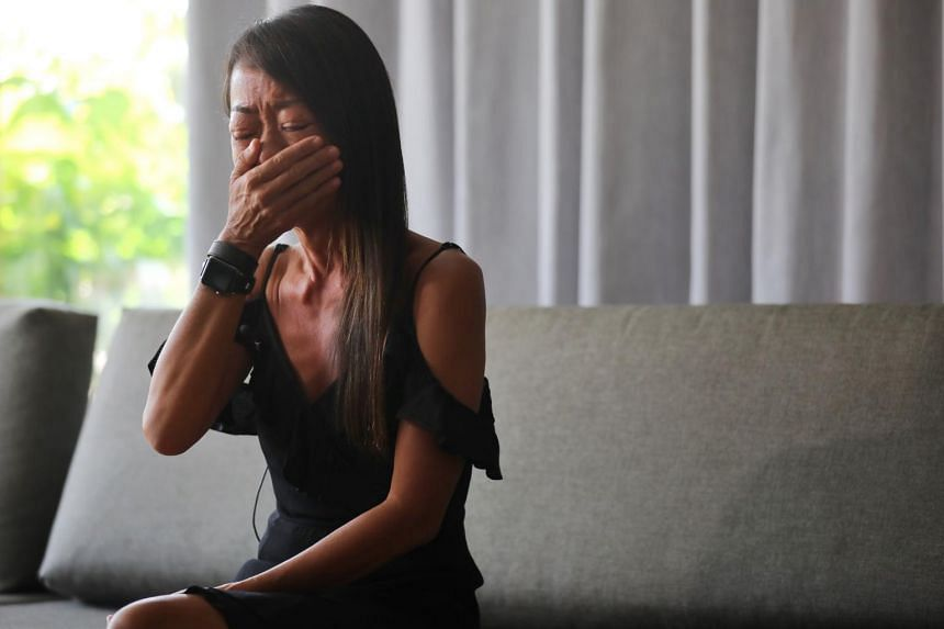 Ms Elaine Lek wants to break the silence around suicide.