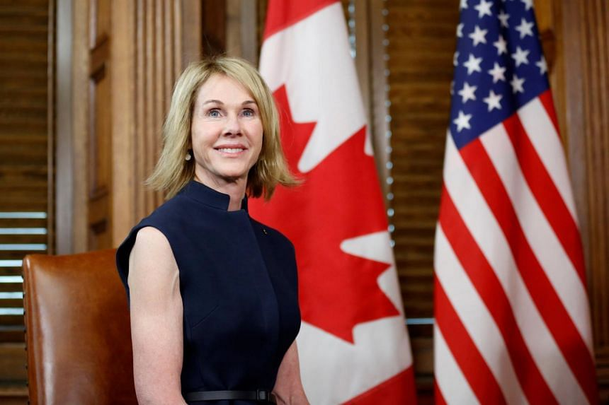 US President Donald Trump said he was nominating Kelly Craft, the current US ambassador to Canada, as his envoy to the United Nations on Feb 22, 2019.