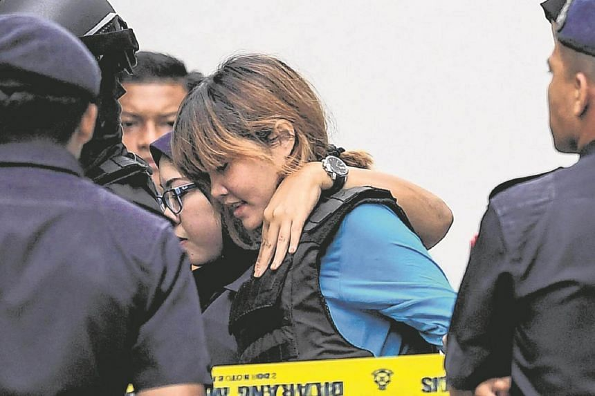 Vietnamese national Doan Thi Huong is accused of delivering the potent VX nerve agent that killed Kim Jong Nam in Feb 2017.