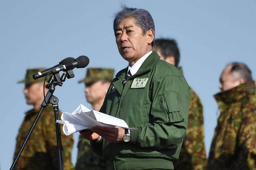 Defence Minister Takeshi Iwaya told reporters that Japanese military vessels would not enter Busan, but would take part in multilateral naval exercises off the South Korean port.