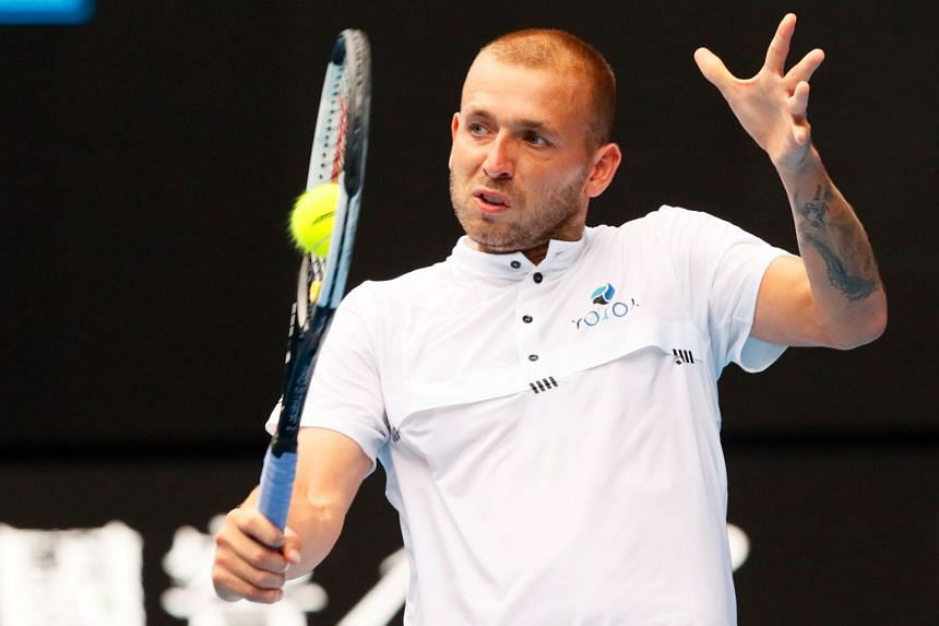 Evans (above, in a file photo) beat Isner 3-6, 6-2, 6-3.