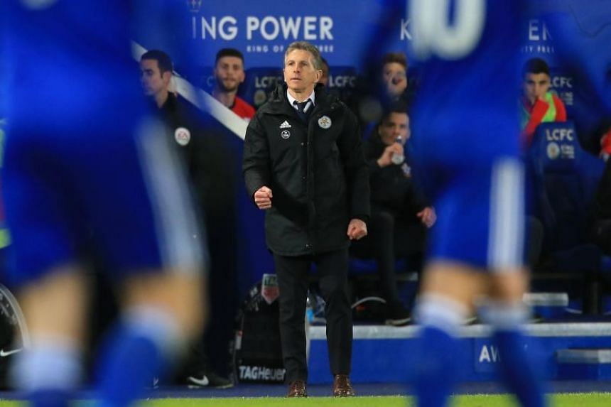 Claude Puel had been unable to get Leicester City out of a recent slump with the club losing five of their last six league matches.