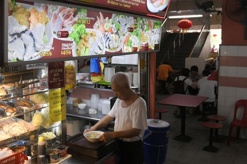 Hawker Lick Su at his stall in Chinatown Complex food centre. Mr Lick will hang up his apron for good when the food centre closes on March 1, 2019, for a three-month renovation.