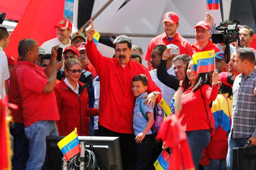 Venezuelan President Nicolas Maduro avoided a bloodbath despite a massive border face-off between protesters and soldiers.