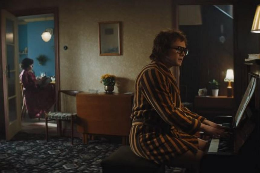 Taron Egerton, 29, plays Elton John in the biopic, and performs John's 1970 hit Your Song.
