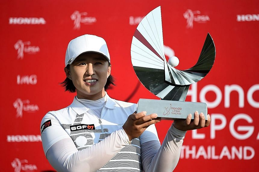 South Korean golfer Amy Yang also won the tournament in 2015 and 2013.