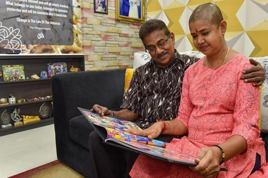 Mr N. Arumugam donated a kidney to his wife, Mrs Saras Adiya, as she was diagnosed with polycystic kidney disease in 2013.