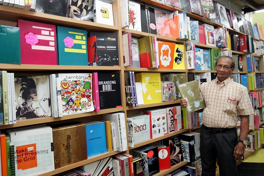 Mr Basheer Ahamed opened his bookstore in the early 1990s and it soon became a haven for Singapore's design community for its selection of books and magazines not found in mainstream stores.