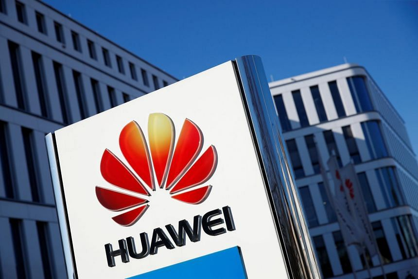 The Japanese government will explain the policy it is adopting this spring to effectively exclude products made by Huawei (pictured) and fellow Chinese manufacturer ZTE from government procurements.
