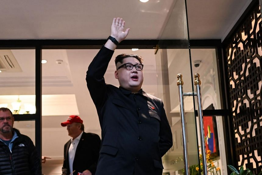 Kim Jong Un impersonator Howard X was questioned by Hanoi police and was informed he would be put on a plane back to Hong Kong where he lives.