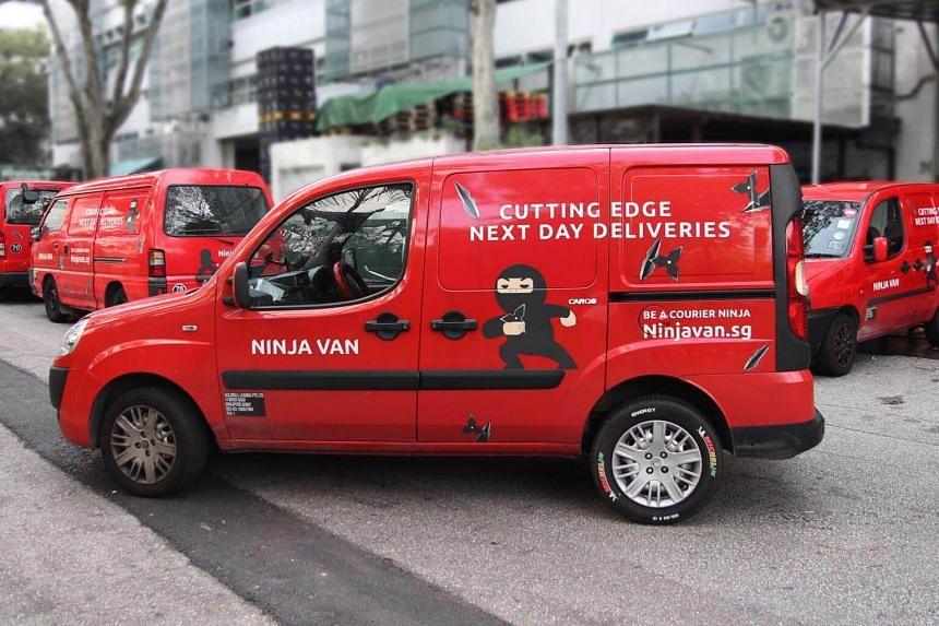 Courier services, such as Ninja Van, are also finding ways to beat the manpower crunch and reduce missed deliveries.