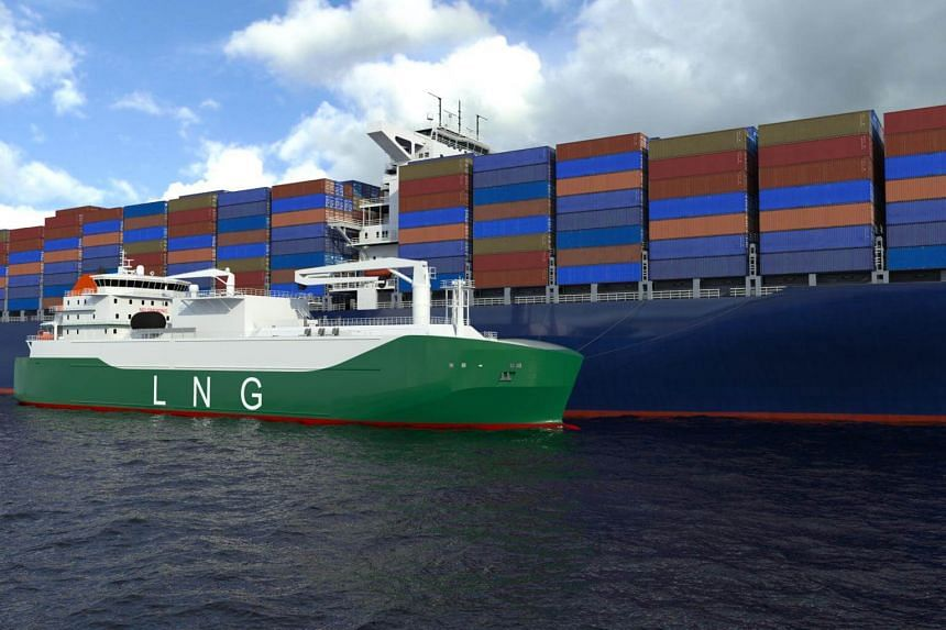 The LNG vessel will be built for Indah Singa Maritime, a subsidiary of Mitsui OSK Lines (MOL), at the Sembcorp Marine Tuas Boulevard Yard.
