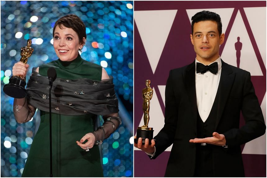Best Actress in a Leading Role was won by Olivia Colman for her part as Queen Anne in The Favourite, while actor Rami Malek, who played Queen singer Freddie Mercury in Bohemian Rhapsody, got his Lead Actor Oscar as predicted.