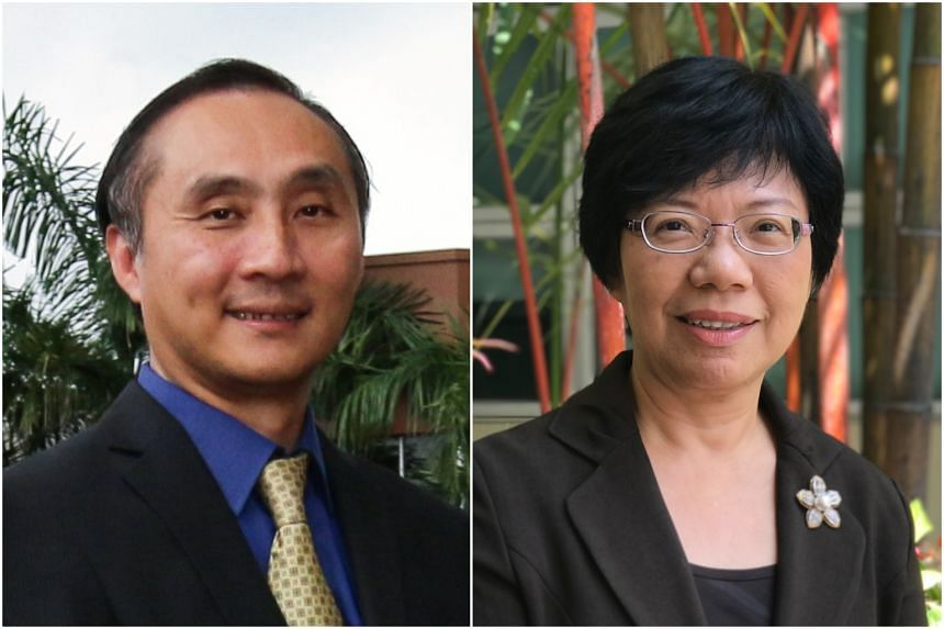 Mr Yue Lip Sin (left), who is currently the deputy chief executive of SEAB, will take over from Miss Tan Lay Choo, who will be retiring on March 31, 2019.