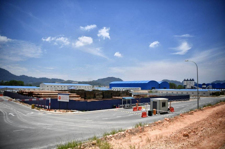 The China Communications Construction Company site in Bentong, Pahang.