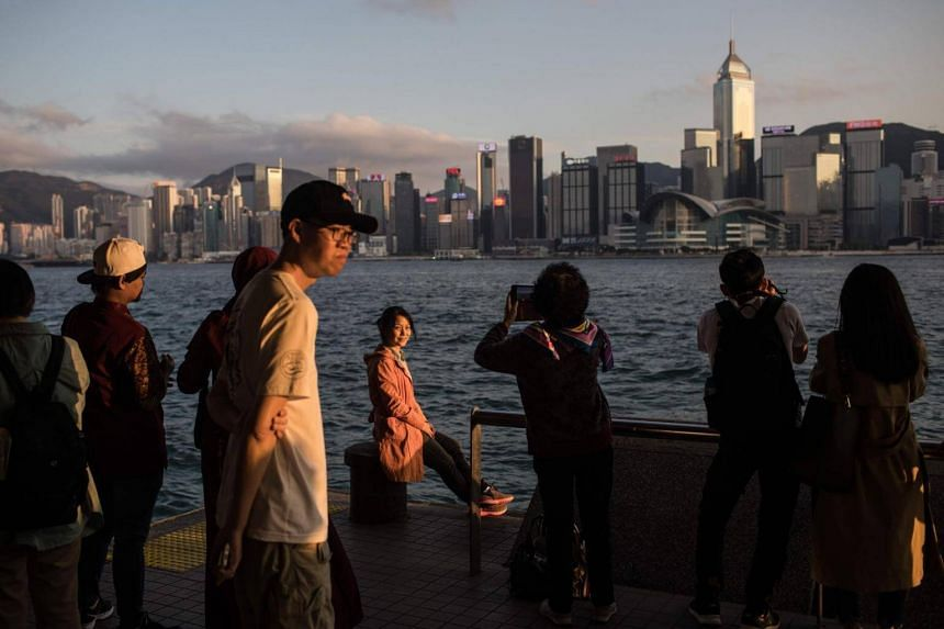 Hong Kong's economy has slowed as the trading hub found itself wedged between the US-China standoff.