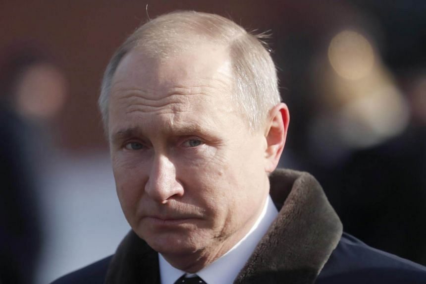 President Vladimir Putin has said Russia does not want a new arms race, but has also dialled up his military rhetoric.
