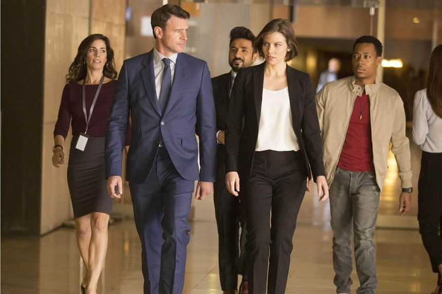 Scott Foley plays federal agent Will Chase, who is paired with Central Intelligence Agency operative Frankie Trowbridge, played by Lauren Cohan, and the two have to work together to save the world.