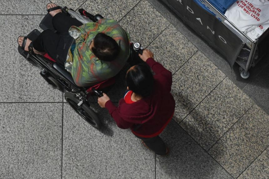 """Labour MP Heng Chee How believes that getting caregivers to work will help solve the current """"structural mismatch"""" between the demand and supply for manpower."""