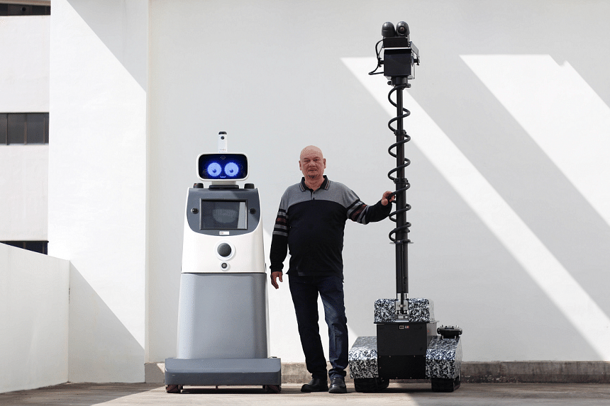 Oneberry Technologies' next move - robot revolution. PHOTO: ONEBERRY TECHNOLOGIES