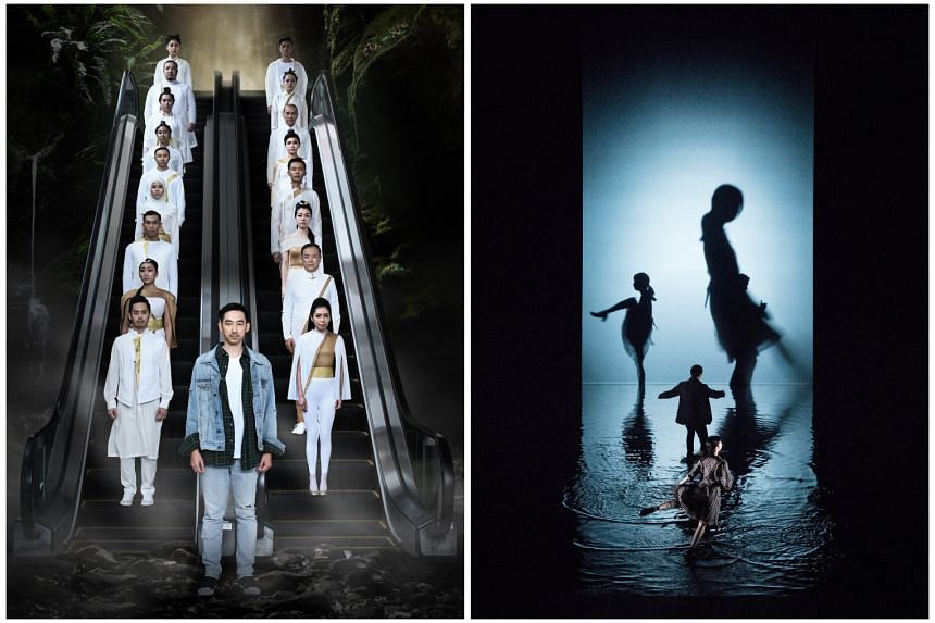 This year's Singapore International Festival of Arts features Toy Factory Productions' reworked Kun opera, A Dream Under The Southern Bough: Reverie (left), and ST/LL (below), an interdisciplinary performance installation by Japanese art collective Dumb T
