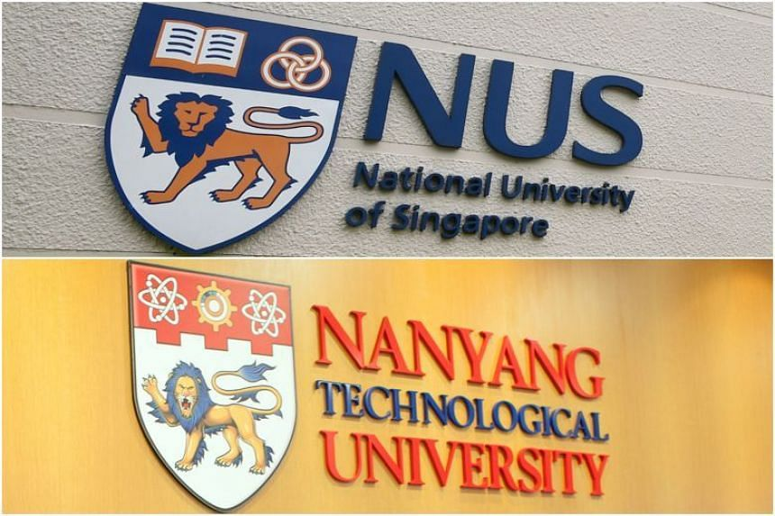 Of Singapore's 14 top-10 performances in the Quacquarelli Symonds World University Rankings by Subject, nine were achieved by the National University of Singapore, while five were achieved by Nanyang Technological University.